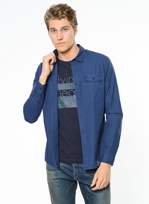 Calvin Klein Gömlek İndigo